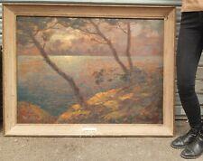 Dieudonné JACOBS (1887 - 1967) - Très grand tableau ancien - Environ de Toulon