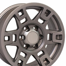 Oew 17 Wheel Rim Fits Toyota Truck 4runner Trd Ty16 Satin Graphite 75167 Set Fits 2004 Toyota Tundra