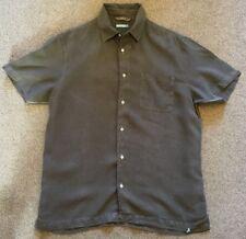 White Stuff Mens 100% Linen Short Sleeve Shirt M
