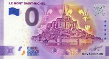 50 LE MONT SAINT-MCHEL Abbaye et fleurs de lys, 2021, Billet Euro Souvenir