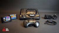 SEGA Megadrive MK1 Console Pack 1 Manette Puissance RF 2 Games