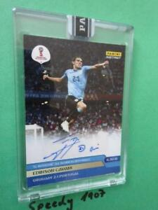 Panini Adrenalyn World Cup 2018 INSTANT Autograph Limited 267 Cavani  #4 of 15