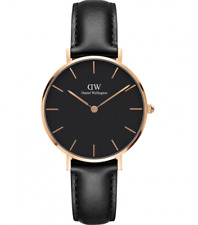 Daniel Wellington Classic Petite Sheffield Black Watch DW00100168 Rose Gold
