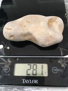 Mystery Indian Tool Rock Stone Age Lake Michigan 281 Grams