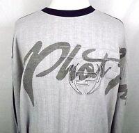 Phat Farm Mens Shirt Long Sleeve Pullover Size XL NWOT Gray Blue 100% Cotton