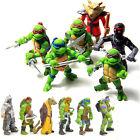 6Pcs/Set Teenage Mutant Ninja Turtles TMNT Action Figures Collection Toys Set