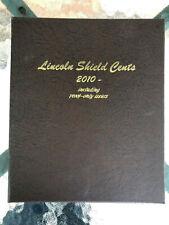 Dansco Album 8104 Lincoln Shield Cents 2010 Set Folder & Proof Only w/Slipcase