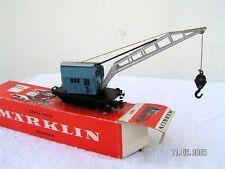 MÄRKLIN HO 1/87 - 3 rails   -  WAGON-GRUE KRUPP (CRANE) ref 4611