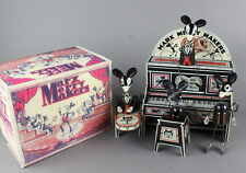 1929 Marx Tin Merrymakers with Marquee over Piano Working Wind Up & Repro Box