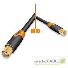 HICON Ergonómico Cable de antena 3m 110dB cable TV 3,00 m DVB-C HIE-AFAM-0300