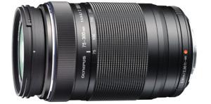 Olympus M. Zuiko Digital ED 75-300mm f/4.8-f/6.7 Tele-Zoomobjektiv schwarz