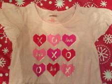 Cat & Jack Girls' Valentine's Day Hearts Nightgown. New. Choose size.