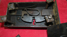 Grosse serrure XVIII / XIX ème en fer forgé, poids 4.3 kgs