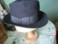 Vintage hat been cared for size 6 and three quarter small mens hat  top quality