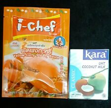 I-Chef/Healthy Boy-Chinois Curry Sauce + lait de noix de coco-sans gluten