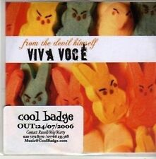 (CB979) Viva Voce, From The Devil Himself - 2006 DJ CD