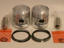 Paire de pistons pour la Honda 125 TWIN en cote standard   (x2)