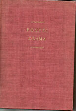 Poetic Drama, ed Alfred Kreymborg