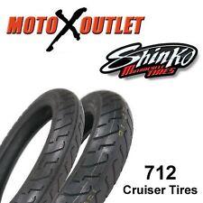 100/90-19 120/90-18 Shinko 712 Front & Rear Motorcycle Tires Street Bike