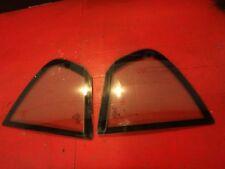 04 325I E46 BMW SEDAN REAR BACK DOOR WINDOW VENT GLASS SET OEM LRFT RIGHT OEM