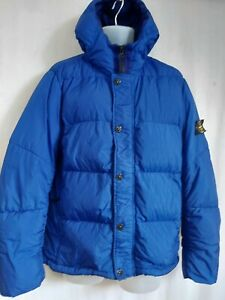 Stone Island Garment Dyed Crinkle Reps N Y Down  Jacket. Size XL. Project.