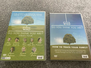 Who Do You Think You Are? - Series 4 And How To Trace Your Family DVD Boxset