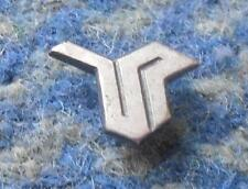 STOMIL OLSZTYN TIRES AUTOMOBILE CARS 1980's SMALLER SILVER VERSION PIN BADGE
