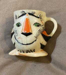 Vintage Tony The Tiger Cup Mug Kelloggs 1964 -3 1/2 inches tall