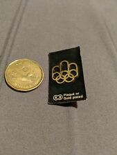 CANADA 1976 Montreal Olympic Games  Pin Badge Gold Plated