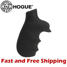 Hogue Grip Taurus Tracker/Judge Revolver Soft Rubber Monogrip w/ Finger Grooves