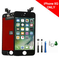 LCD Lens Display Touch Digitizer Screen Assembly Replacement for iPhone 5 Black