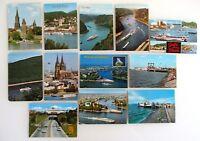 Postkarten Lot mit 12 x Postkarte Postcard Schiff Schiffe Ships AK ab ca.1960/70