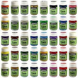DEKA-ColorLack 25 ml   - 37 Farben zur Auswahl -