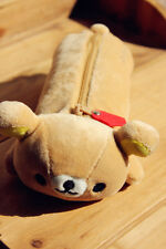 Rilakkuma san-x Relax Bear Cute Make Up Pencil Case Storage Bag 1pc Freeshipping