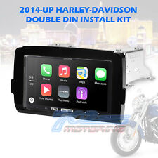 2014-17 HARLEY DOUBLE DIN RADIO INSTALL ADAPTER DASH KIT CONTROL BEZEL