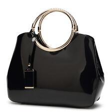 Women Patent leather messager bag shoulder bag  handbag bags