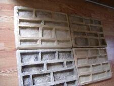 .2 .Ledgestone Veneer Concrete Rubber Molds Kit..DIY..START A MFG BUSINESS TODAY