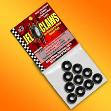 1/64 HO Scale Aurora Slot Car Tires Jel Claws 10pk Fits G Plus Cars, Rear