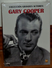COLECCION GARY COOPER 5 DVD+CD B.S.O+LIBRETO PRECINTADO NUEVO CINE CLASICO R2