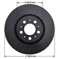 Disc Brake Rotor Front AUTOZONE/DURALAST GOLD-ROTORS 34208DG
