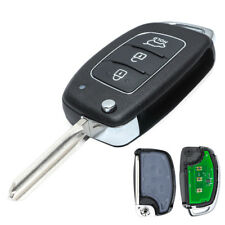 New Replacement Folding Remote Key 433MHz ID46 Fob for Hyundai Elantra 2014-2016
