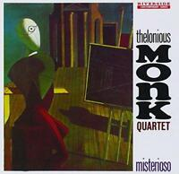 Thelonious Monk Quartet - Misterioso (Original Jazz Classics Remasters) (NEW CD)