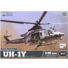2018 Hot Sale Kitty Hawk KH80124 1/48 UH-1Y Venom Helicopter New .
