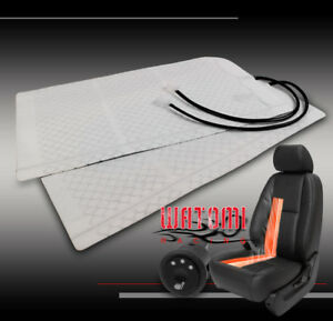 UNIVERSAL HEATED SEAT HEATER PAD KIT +ROUND HI/MID/LOW SWITCH CUBE LEGACY SOLARA