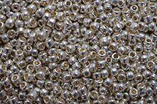Toho Seed Beads 8/0 - PermaFinish Galvanized Aluminum