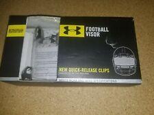 New listing Under Armour Football Helmet Visor EyeShield Eye Shield UA Pro Clear