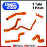 Kit Tuyaux De Radiateur Samco KTM-75OR Orange KTM 690 Enduro 2014 > 2017