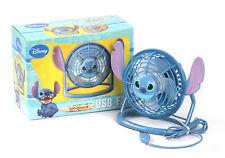 Disney Lilo&Stitch Portable Desk USB Fan PC Notebook Fan Light Up Kids Gift