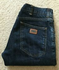 Mens Dolce & Gabbana straight leg indigo blue denim jeans W 32 L 29