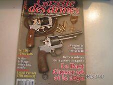 **b Gazettes des armes n°476 Fusil d'assaut CTME modèle 58 / Chevaliers de Malte